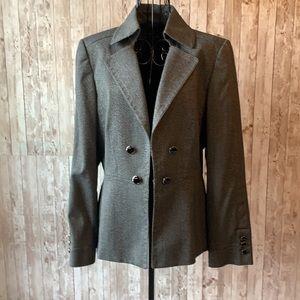 🍭 Antonio Melani Grey Tweed Blazer